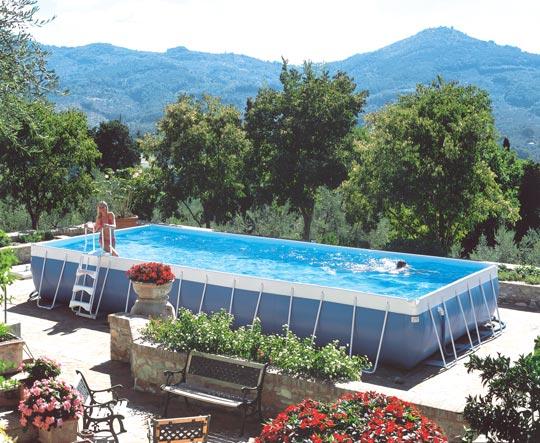 Preisg nstig und einfach aufstellbecken schwimmbad zu for Aufstellbecken pool