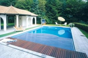 Schwimmbad Ueberdachung von grando