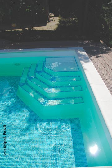 Poolfolie kaufen affordable pool poolfolien with for Poolfolie blau