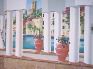 Beispiele für Wandmalereien