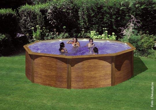 einsteigen bitte g nstig zum eigenen schwimmbad. Black Bedroom Furniture Sets. Home Design Ideas