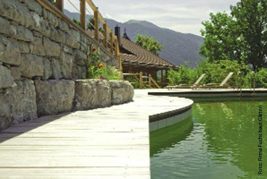 Fuchs Baut Gärten die naturoase schwimmteich schwimmbad zu hause de