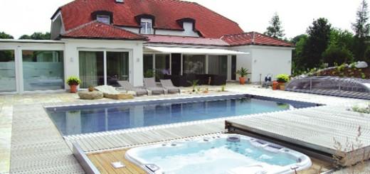 wellness zu hause mit schwimmbad whirlpool und sauna schwimmbad zu. Black Bedroom Furniture Sets. Home Design Ideas