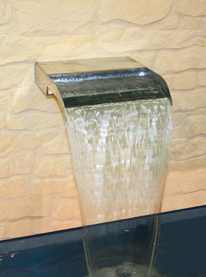 Wasserspa die 10 besten wasserattraktionen f rs - Wasserfall fur pool ...