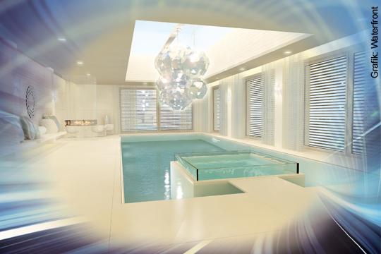 Wellnessraum zuhause gestalten for Schwimmbad deko