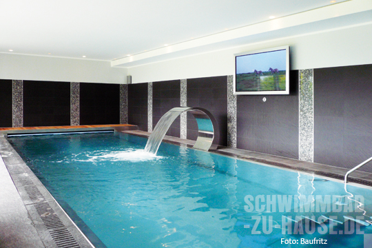 indoor pool bauen traumhafte schwimmbaeder m belideen. Black Bedroom Furniture Sets. Home Design Ideas