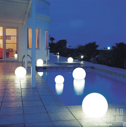 Moonlight-Wasserkugeln-Leuchten