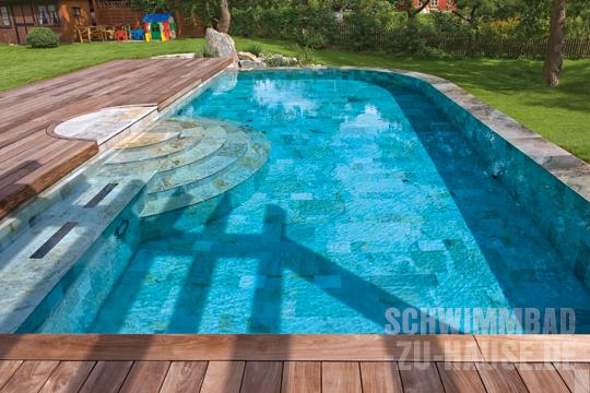 fantasievolle beckenauskleidungen schwimmbad zu. Black Bedroom Furniture Sets. Home Design Ideas