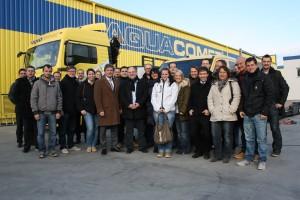 2-tägige Aquacomet-Bildungsreise für Topras-Partner