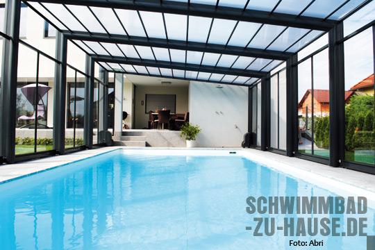 Raum-zum-(Ent)falten-Schwimmbad-Überdachung