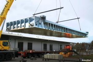 Per Sondertransport von Dalum ins Salzburger Land
