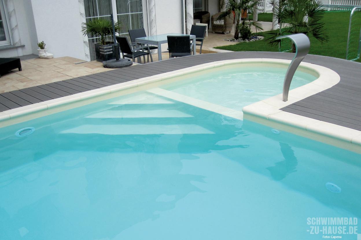 form und einstieg beim eigenen schwimmbad schwimmbad zu. Black Bedroom Furniture Sets. Home Design Ideas