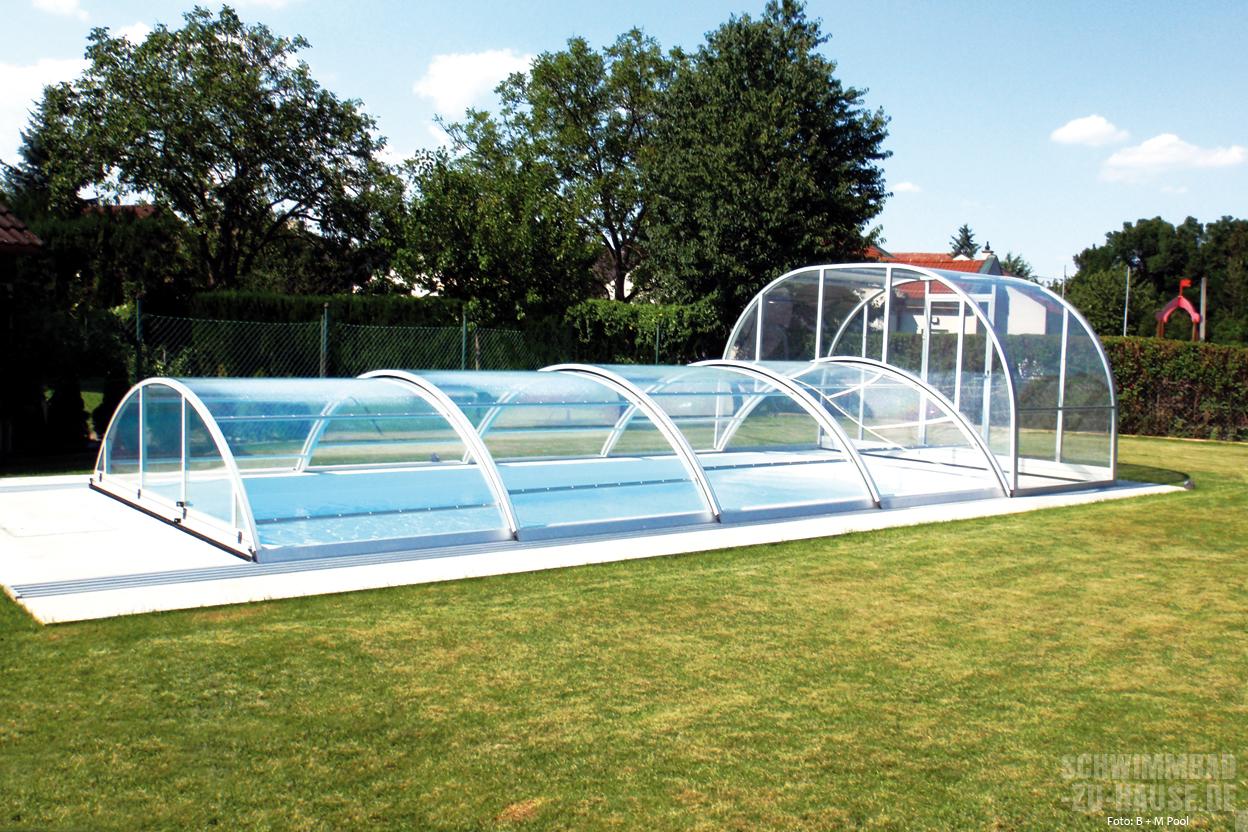 Pool im garten mit überdachung  Gut bedacht | Schwimmbad-zu-Hause.de