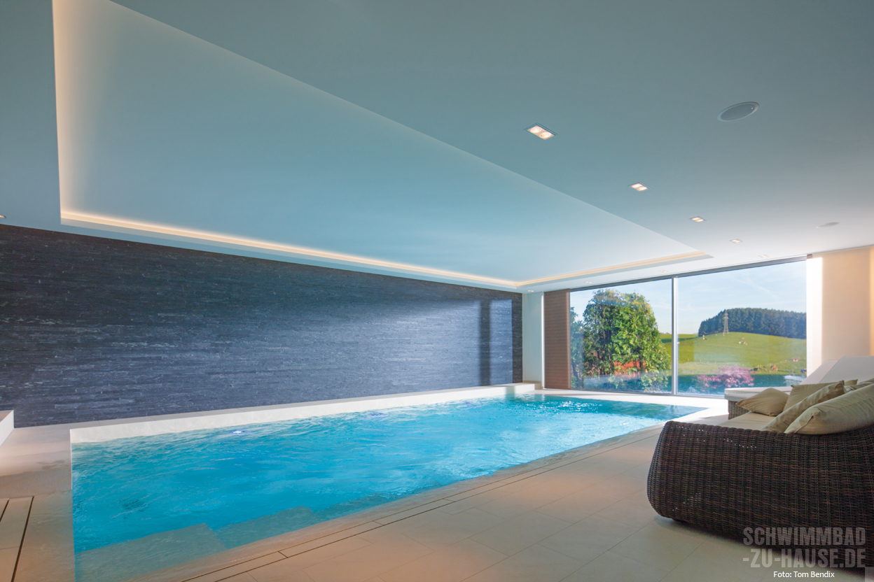 stunning schwimmbad im keller contemporary. Black Bedroom Furniture Sets. Home Design Ideas
