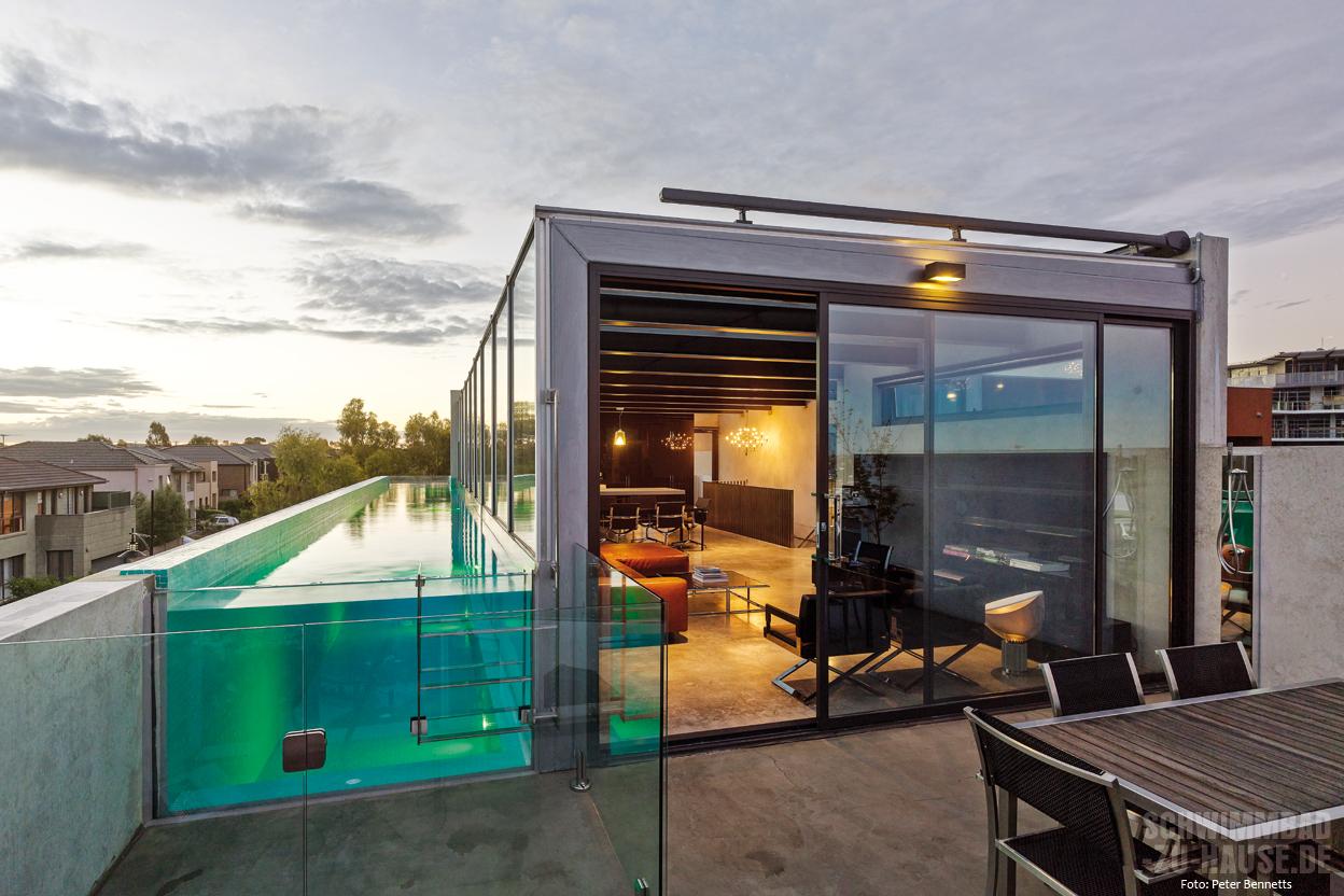 skyline pool schwimmbad zu. Black Bedroom Furniture Sets. Home Design Ideas