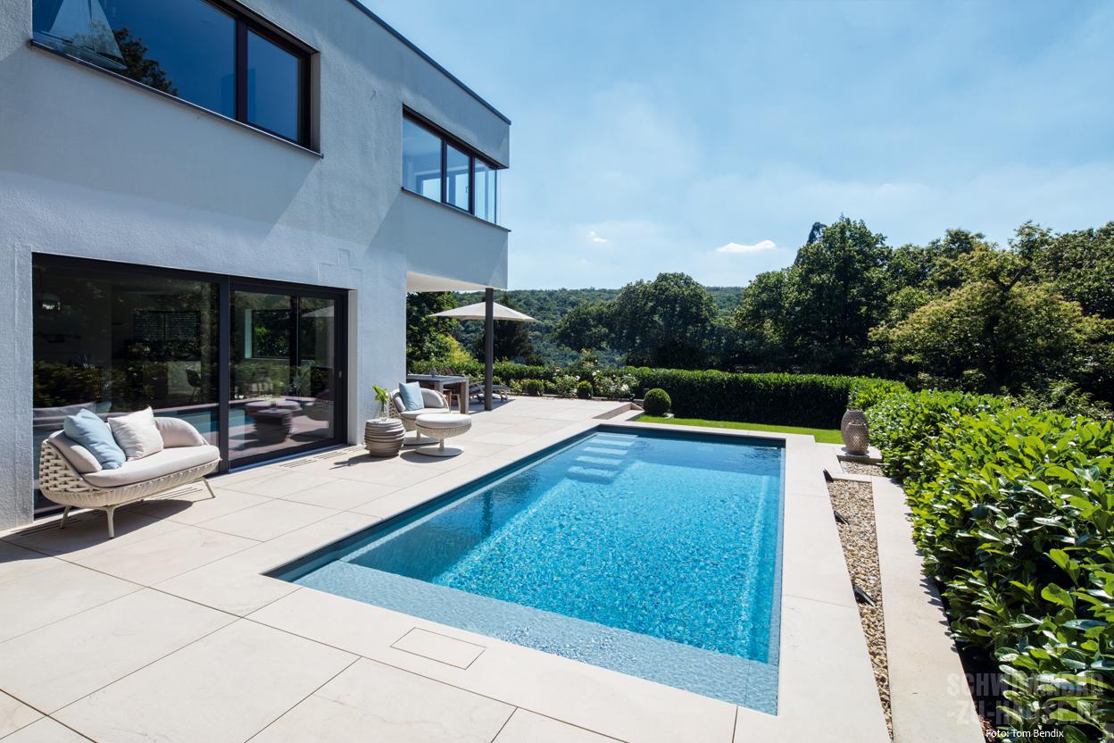 Niedlich indoor pool bauen traumhafte schwimmbaeder for Gartenpool ohne chemie