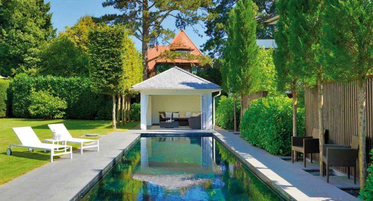 Badespaß im Garten