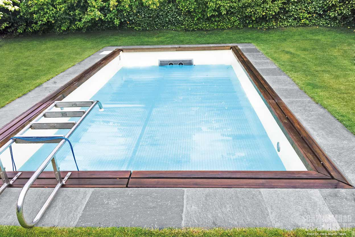 pool mit gegenstromanlage schwimmbad zu. Black Bedroom Furniture Sets. Home Design Ideas