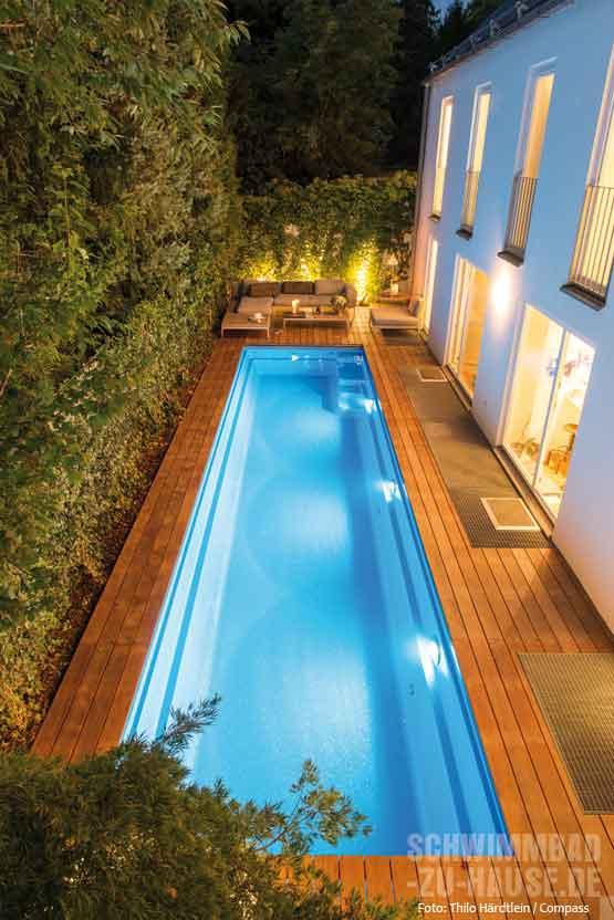 Quick and easy schwimmbad zu for Gartenpool eingebaut
