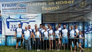 Krause-Schwimmbadtechnik goes Giants Run
