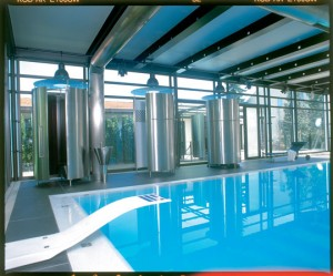 Glas, Design, Schwimmbad