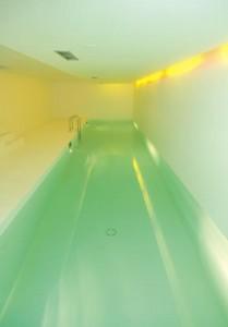 Schwimmbad mit Reinheitsgebot