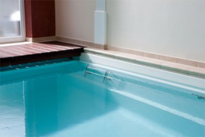 Traumwandlerisches Schwimmbad