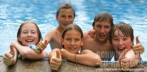 Gesundheit im Schwimmbad