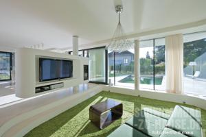 Wohnzimmer mit Schwingungen