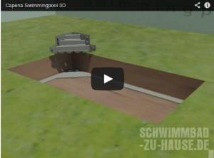 "Video: Capena ""Bau eines Swimmingpools"""