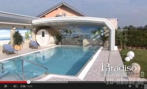 """Video: Paradiso Schwimmbadüberdachung """"Venezia"""""""