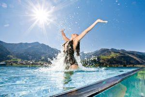 Die schönsten Infinity Pools im deutschsprachigen Raum